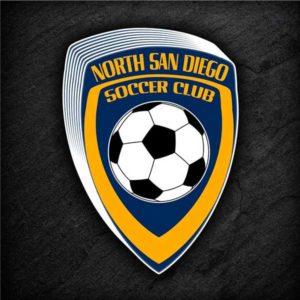 North San Diego Soccer CLub sticker