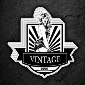 Vintage 1990 sticker