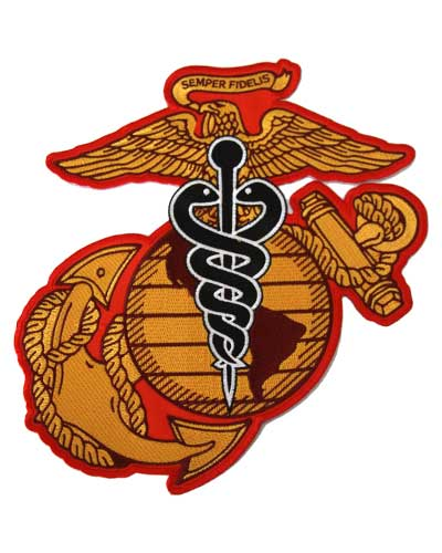 USMC Embroidered Patch