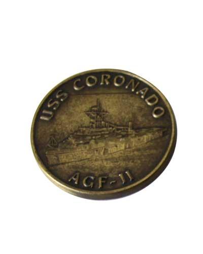 Military Coin USS Coronado