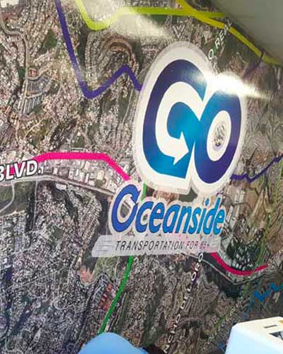 Oceanside Wall Graphic