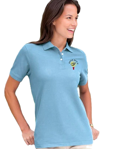 Womens Embroidered Polo Shirt