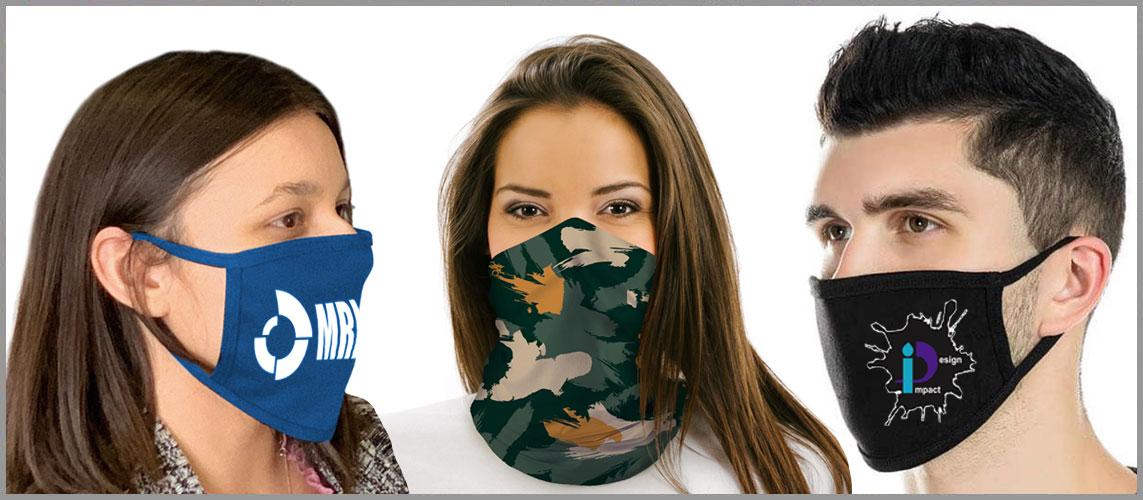 custom printed facemasks